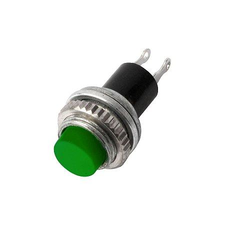Botão Push Button DS-314 sem Trava (Verde)