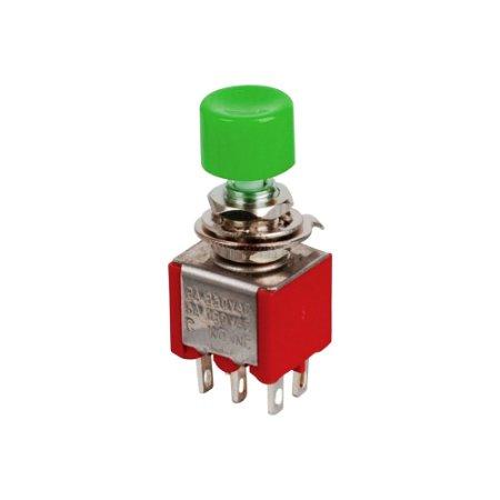 Chave Push Button DS-622 6mm (Verde)