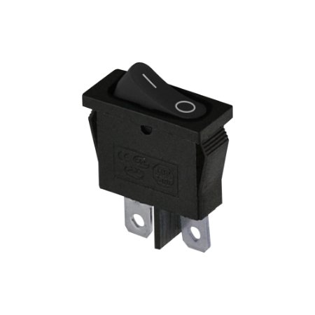 Chave Gangorra ON/OFF KCD1-110 (Preto)
