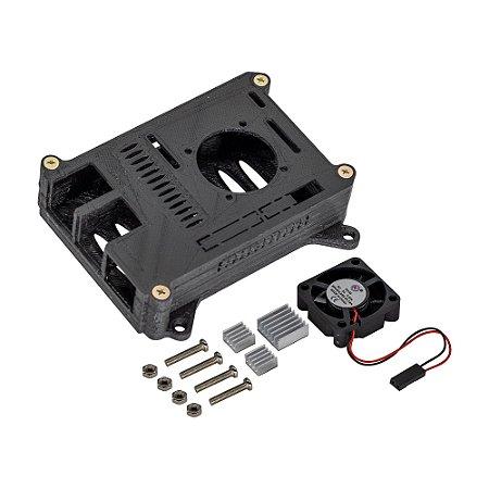 Kit Case Raspberry Pi 4 3D Printed + Cooler + Dissipadores