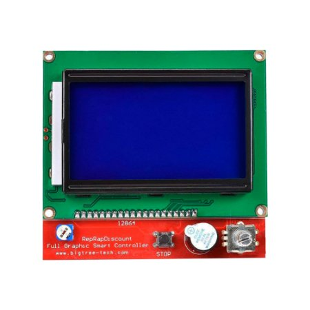 Display LCD 128x64 Controlador Gráfico RepRap Impressoras 3D
