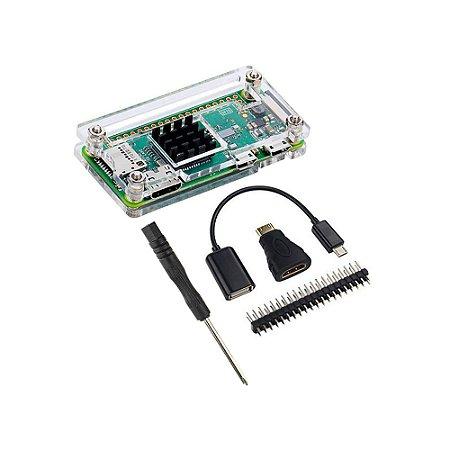 Kit Raspberry Pi Zero W Case Acrílico