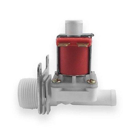 Válvula Solenoide Para Água 24VDC 180° (3/4 x 1/2) VA NA 01