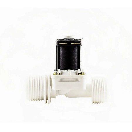 Válvula Solenoide para Água 220V 180° (3/4 x 3/4) VA 04