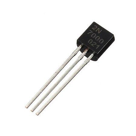 Transistor 2N7000 - MOSFET de canal N