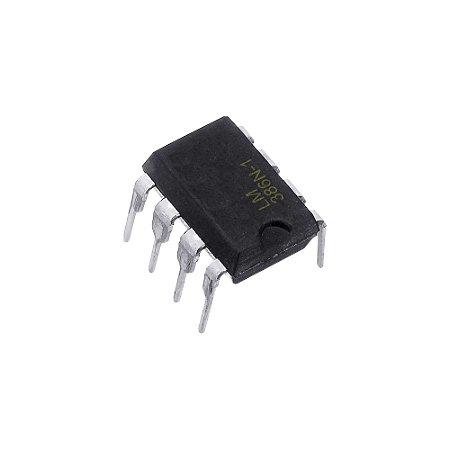 Amplificador Operacional LM386N-1 DIP8
