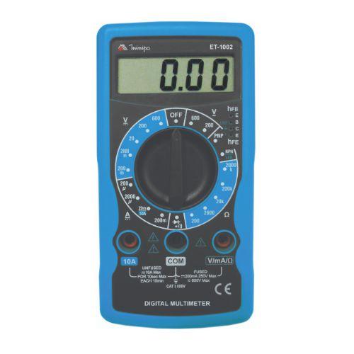 Multímetro Digital ET-1002 - Minipa