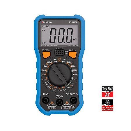 Multímetro Digital ET-1100B - Minipa