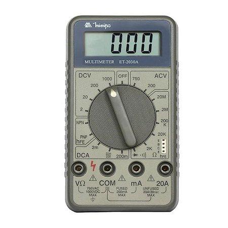 Multímetro Digital ET-2030A - Minipa