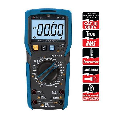 Multímetro Digital ET-2042F - Minipa