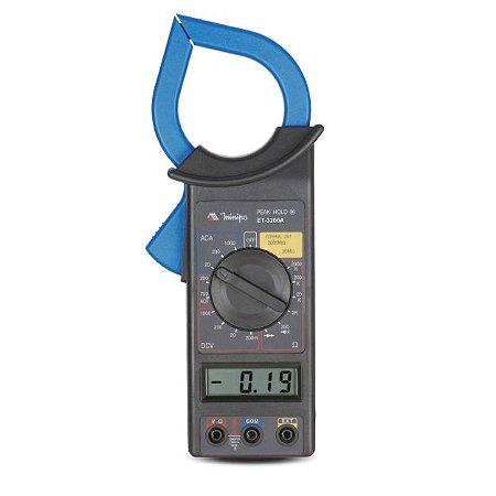 Alicate Amperímetro Digital ET-3200A - Minipa