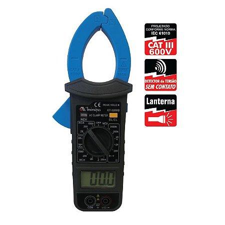 Alicate Amperímetro Digital ET-3200B - Minipa