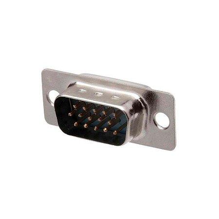Conector DB15 Super VGA 180° Macho