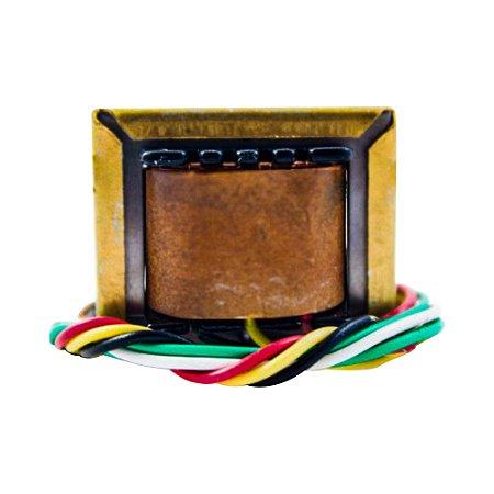 Transformador Trafo 6V+6V 300mA - 110/220VAC