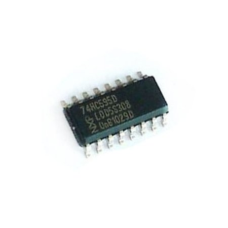 Circuito Integrado 74HC595 SMD - Shift Register