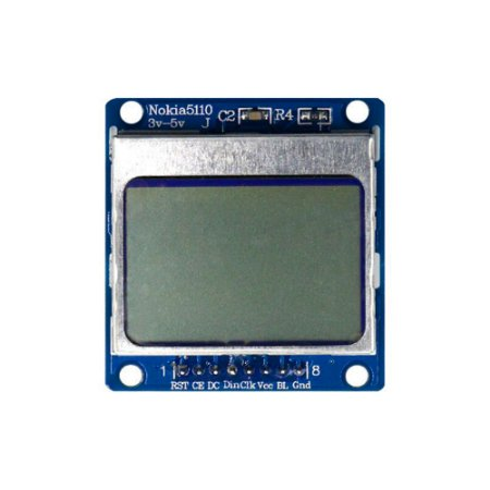 Display LCD Nokia 5110 84x48 Placa Azul - Backlight Azul