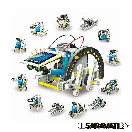 Kit Educacional Robô Solar 13 em 1
