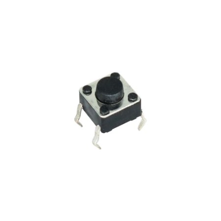 Chave Táctil Push Button - KFCA06 6X6X5 4T 180