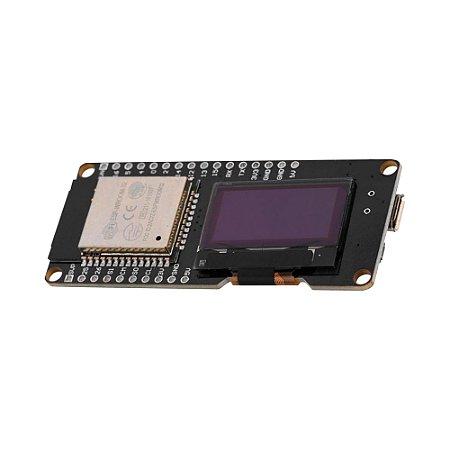 """Placa ESP32 ESP-WROOM-32 WiFi Bluetooth com Display OLED 0.96"""""""