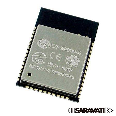 Módulo ESP32 - WiFi / Bluetooth - ESP-WROOM-32 CPU