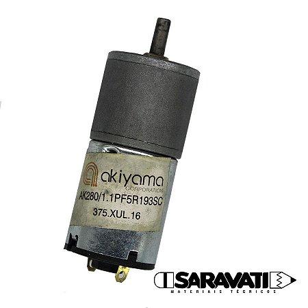 Micro Motor DC com Caixa de Redução 5V / 193 RPM AK280 / 1.1PF5R193SC