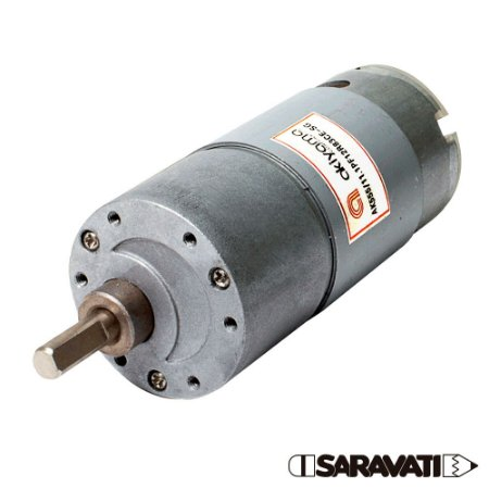 Micro Motor DC com Caixa de Redução 12V 83 RPM AK555 / 11.1PF12R83CE