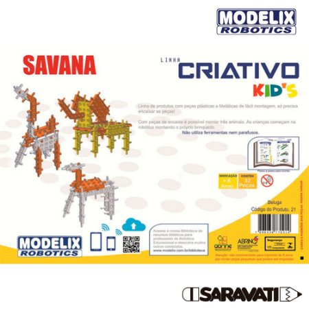 Modelix 21 - Savana Kids - Beluga
