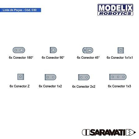 Modelix 030 - Kit de Conectores Metalicos