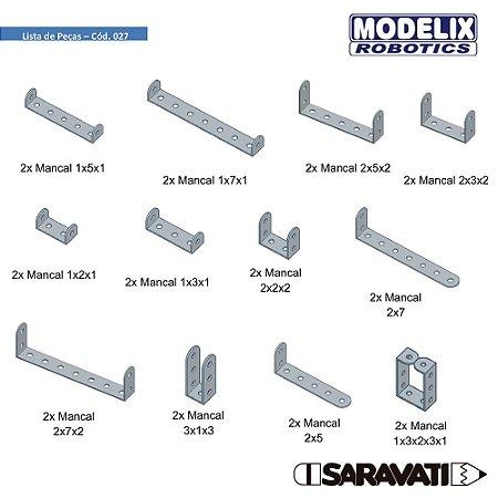 Modelix 027 - Kit Mancais metalicos