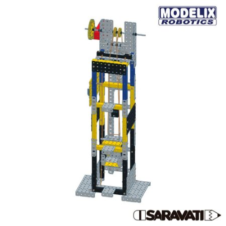 Modelix 510 -Projeto Elevador Modelix com Motor - Inclui Mini Arduino especial +  software