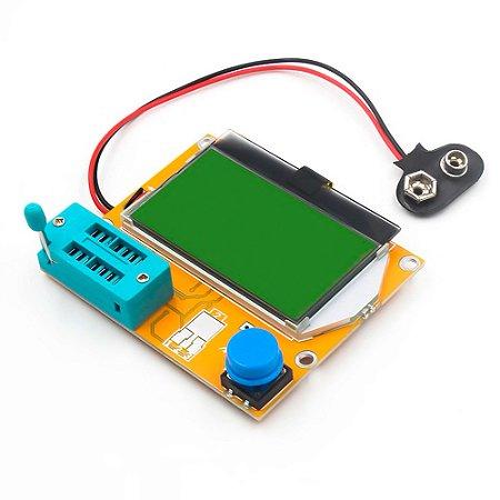 Testador de Componentes LCR-T4 Transistor Tester Diode Triode - HW-308