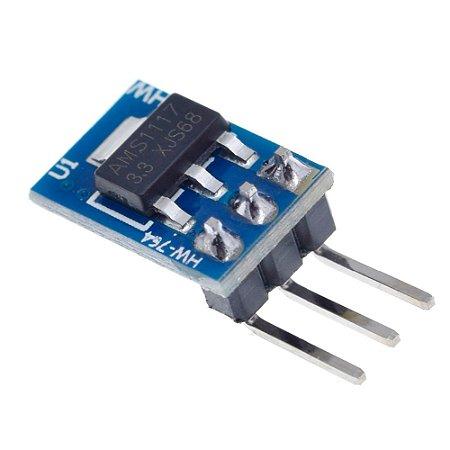 Módulo Conversor Regulador de Tensão AMS1117 DC 3.3V 800mA