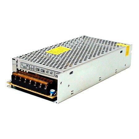 Fonte Chaveada Metal 100-240VAC 50W 5VDC 10A