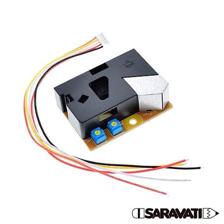 Módulo Sensor de Poeira e Fumaça DSM501A PM2.5