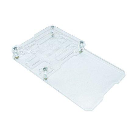 Case Acrílico Transparente UPAC01 Protobase Arduino Uno R3