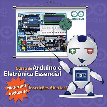 Curso de Arduino e Eletrônica Essencial Professor Rodrigo Nunes