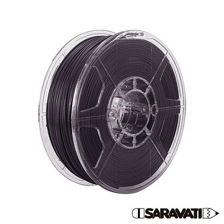 Filamento Impressoras 3D PLA 500g 1,75mm Preto