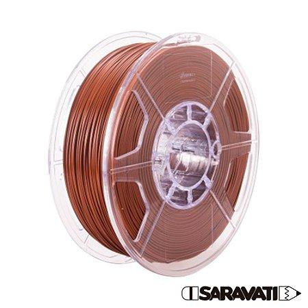 Filamento Impressoras 3D PLA 500g 1,75mm Marrom