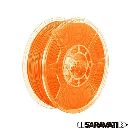Filamento Impressoras 3D PLA 500g 1,75mm Laranja