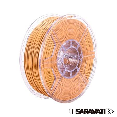 Filamento Impressoras 3D PLA 500g 1,75mm Caramelo