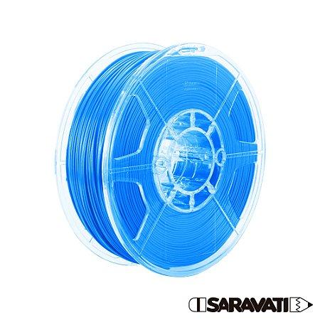 Filamento Impressoras 3D PLA 1Kg 1,75mm Azul Claro