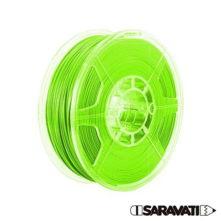 Filamento Impressoras 3D PLA 1Kg 1,75mm Verde Marca Texto