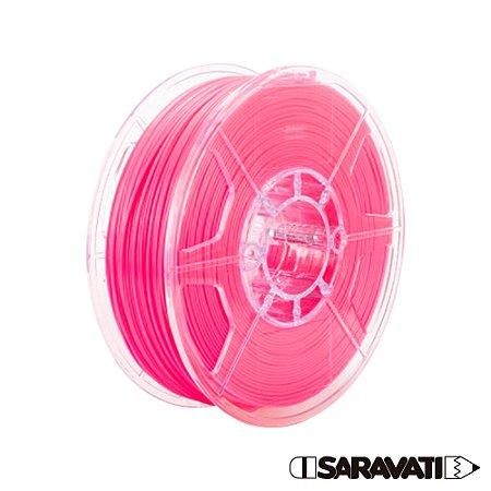 Filamento Impressoras 3D PLA 1Kg 1,75mm Rosa Marca Texto