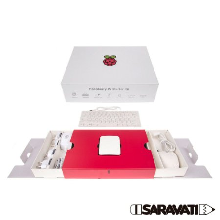 Raspberry Pi Foundation Starter Kit Raspberry Pi 3B SD 16GB