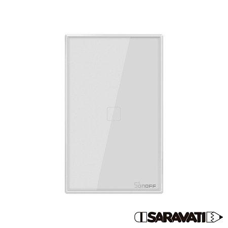 Sonoff TX Interruptor Wifi Smart Wall Switch 1 Tecla T2 Branco