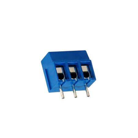 Borne Azul KRE2 KF-301 3 Terminais 180 Mini