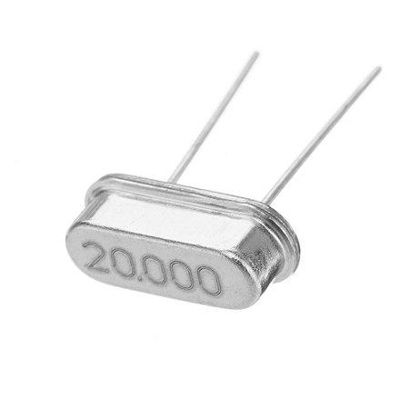 Cristal Oscilador 20.000MHz HC-49S Caneca baixa