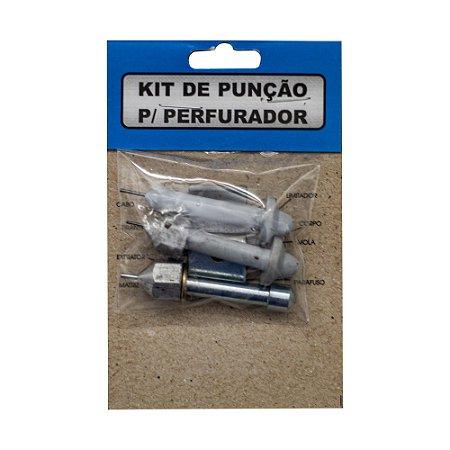 Kit Suetoku KPC 3 Punção e 1 Matriz para Perfurador