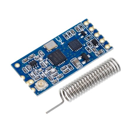 Módulo RF Wireless 433MHz / 473MHz SI4463 HC-12