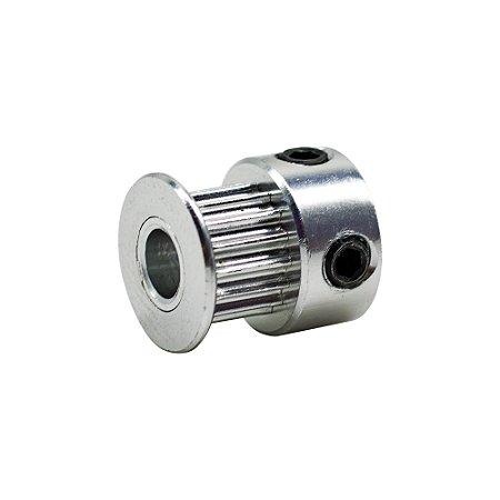 Polia para correia 6mm GT2-6MM 16 Dentes furo 5MM 3D Printer